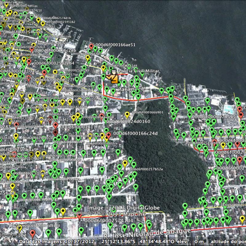 Guaratuba-PR – Projeto de Cidade Inteligente com rede multisserviços 2